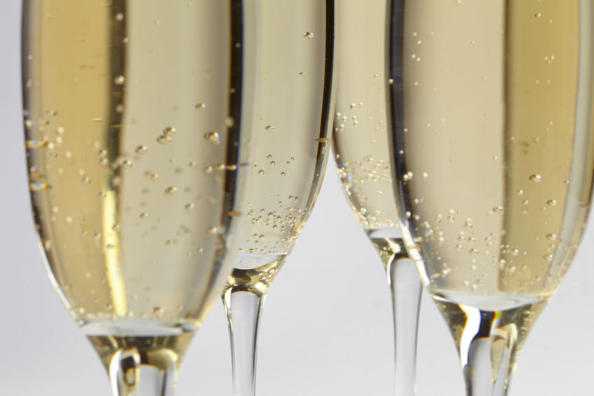 34642608 - champagne glasses