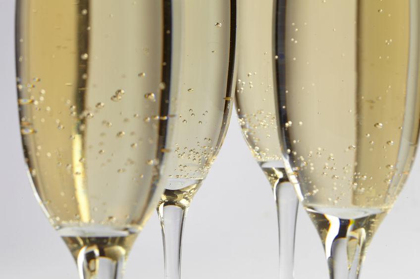 34642608 - champagne glasses