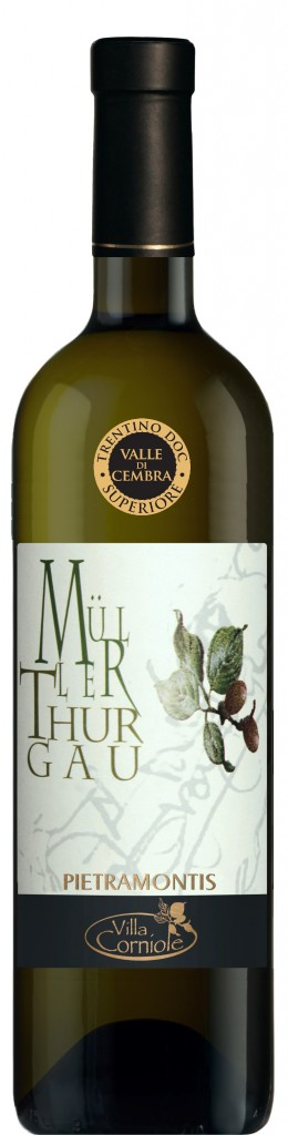 2016 MÜLLER THURGAU PIETRAMONTIS bottle